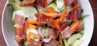 Pineapple Bacon Salad